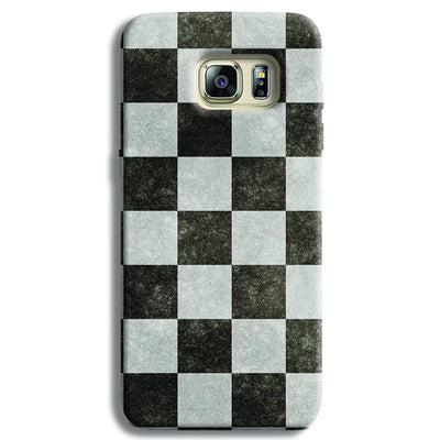 Checkered  Samsung S6 Edge Case