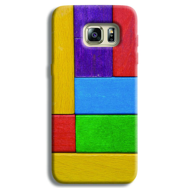 Color Block Samsung S6 Edge Case