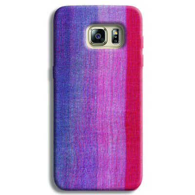 Multicolor Stripes Samsung S6 Edge Case
