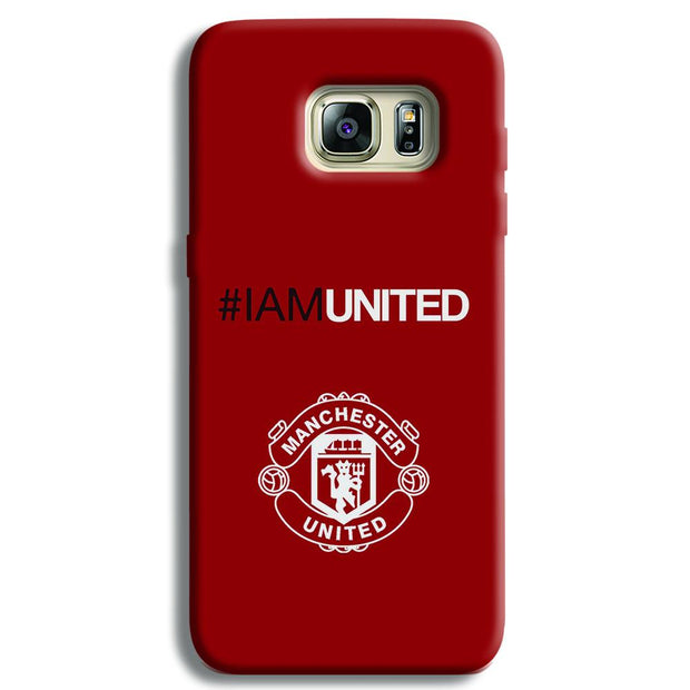 I Am United Samsung S6 Edge Case