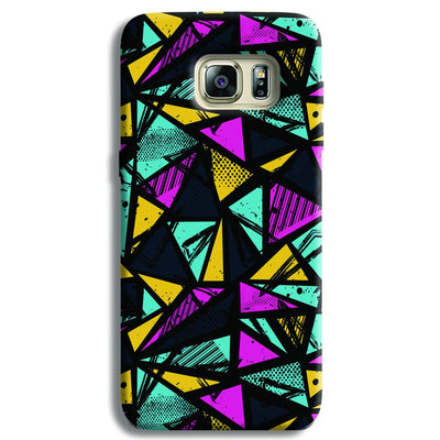 Abstract Samsung S6 Edge Case