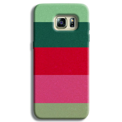 Colored Strips Samsung S6 Edge Case