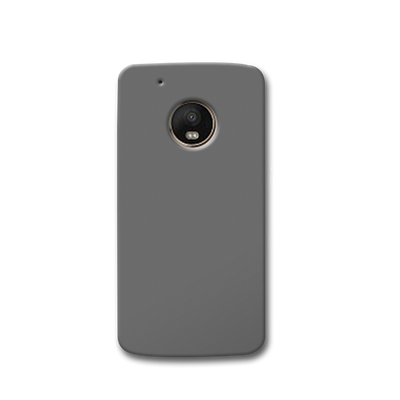 Medium Grey Moto G5s Case