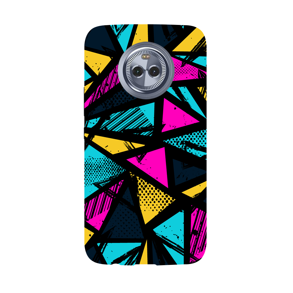 Abstract Moto X4 Case