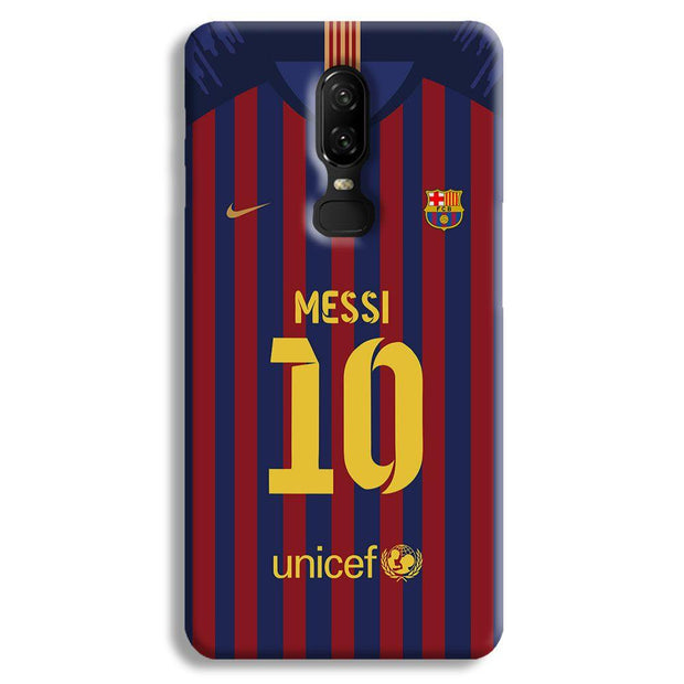 Messi (FC Barcelona) Jersey OnePlus 6 Case