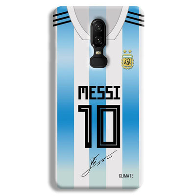 Messi Jersey OnePlus 6 Case