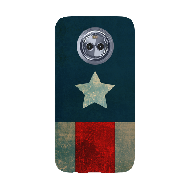 Captain America Moto X4 Case