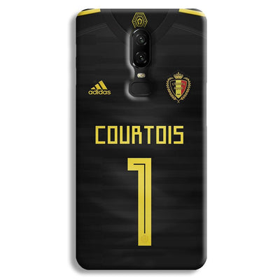 Thibaut Courtois of Club Jersy OnePlus 6 Case