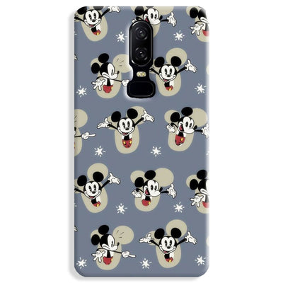 Mickey Mouse Pattern OnePlus 6 Case