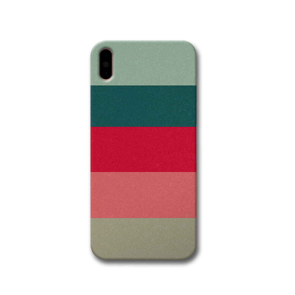 Colored Strips Apple iPhone X Case