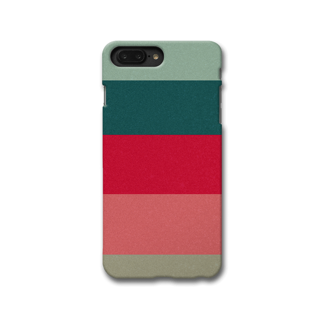 Colored Strips Apple iPhone 8 Plus Case