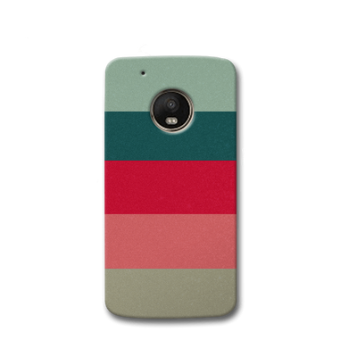 Colored Strips Moto G5s Case