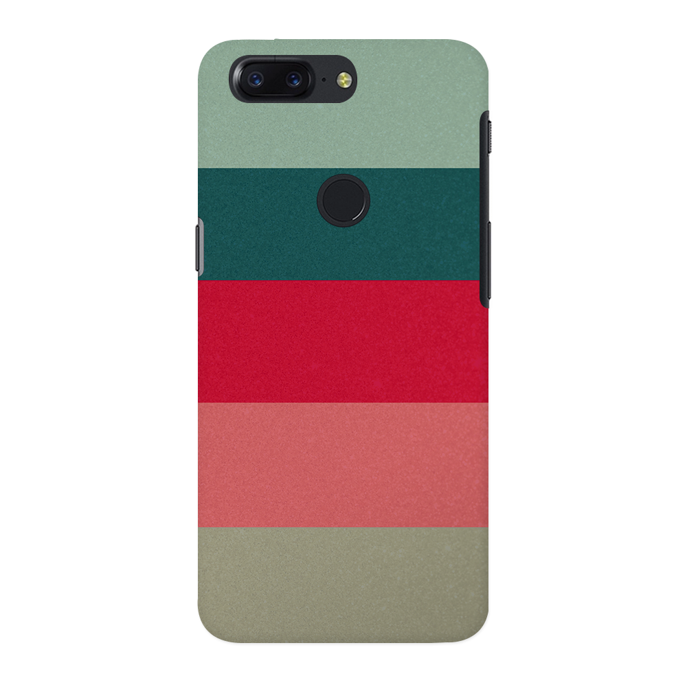 Colored Strips OnePlus 5T Case