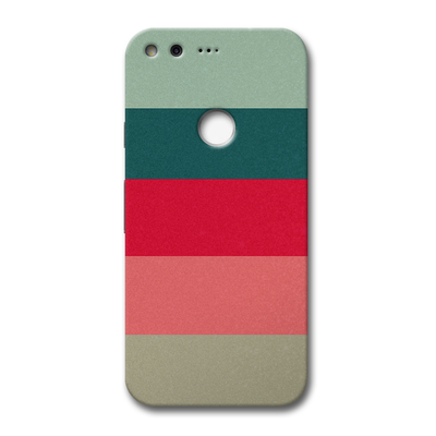 Colored Strips Google Pixel Case