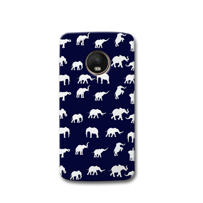 Elephant Pattern Moto G5s Case
