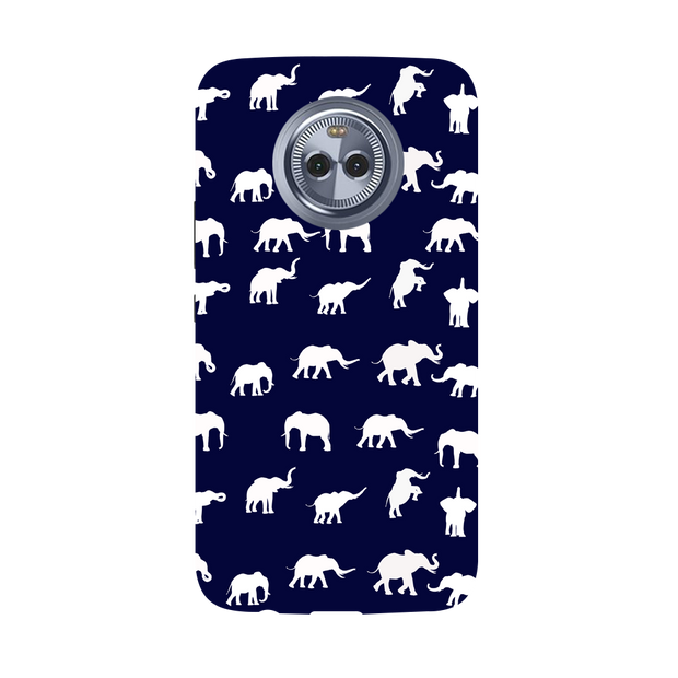 Elephant Pattern Moto X4 Case