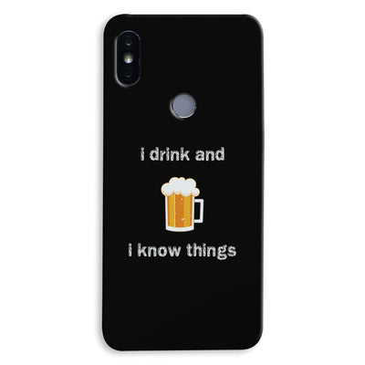 I Drink Xiaomi Redmi Y2 Case