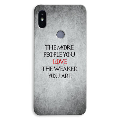 The More People Love You Xiaomi Redmi Y2 Case