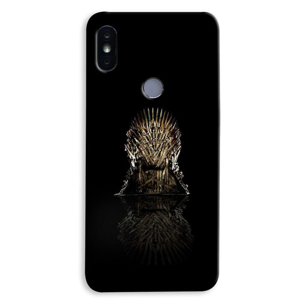 Black Iron Thrones Xiaomi Redmi Y2 Case
