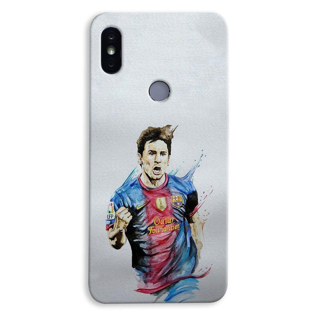 Messi White Xiaomi Redmi Y2 Case