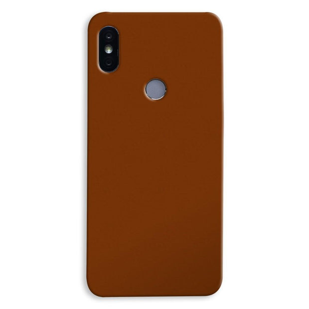 Brown Xiaomi Redmi Y2 Case