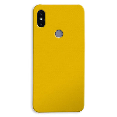 Yellow Crome Xiaomi Redmi Y2 Case