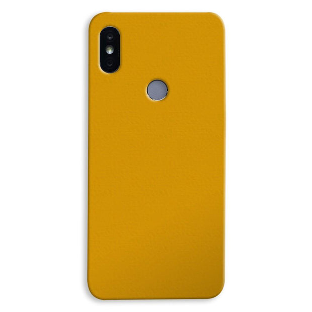 Yellow Ochre Xiaomi Redmi Y2 Case