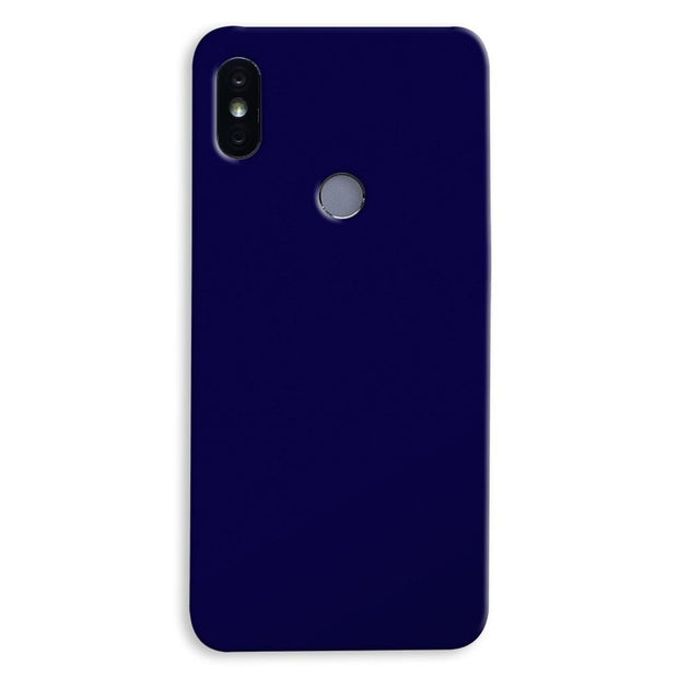 Navy Blue Xiaomi Redmi Y2 Case