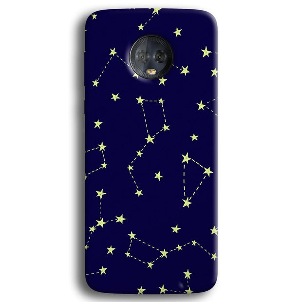 Constellation Blue Moto G6 Plus Case