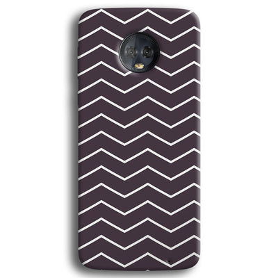 Chevron Pattern Moto G6 Plus Case