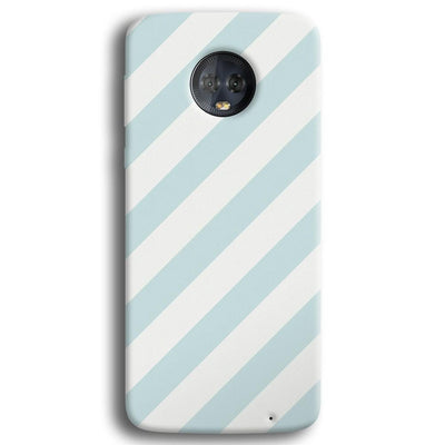 Stripe Pattern Moto G6 Plus Case