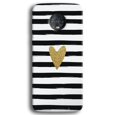 Bling Heart Moto G6 Plus Case