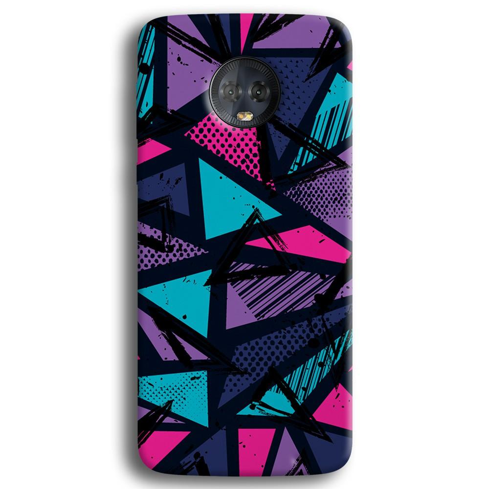 Blues Pattern Moto G6 Plus Case