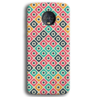 Shapes Pattern Moto G6 Plus Case