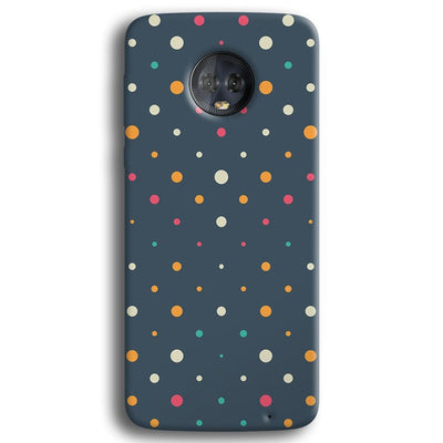 Polka Dot Pattern Moto G6 Plus Case