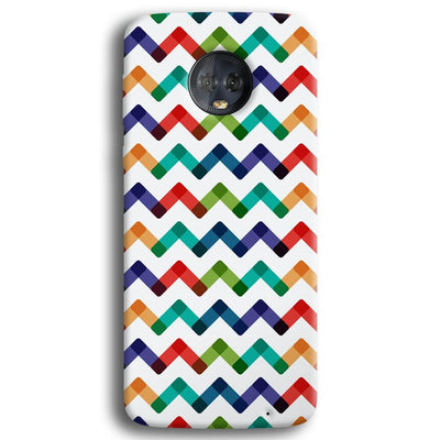 Colors Chevron Moto G6 Plus Case