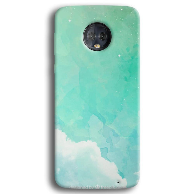 Blue Resonance  Moto G6 Plus Case