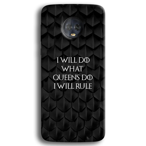 Daenerys Quotes Moto G6 Plus Case