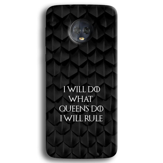 The North Remembers Moto G6 Plus Case