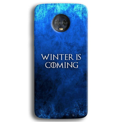 Winter is Coming Moto G6 Plus Case