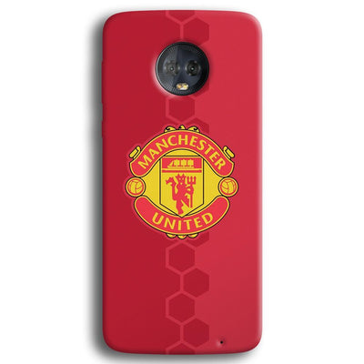 Manchester United Moto G6 Plus Case
