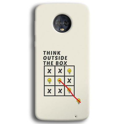 Think Outside the Box Moto G6 Plus Case