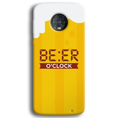 Beer O' Clock Moto G6 Plus Case