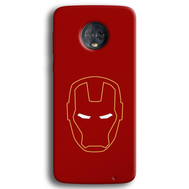 Iron Man Moto G6 Plus Case