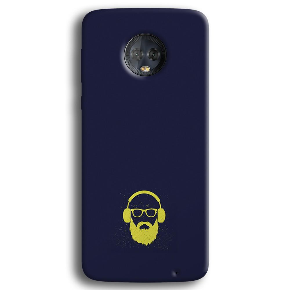 Bearded Man Moto G6 Plus Case