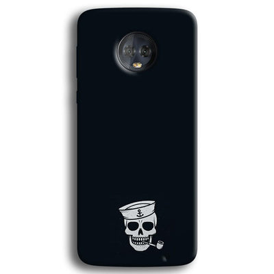 Smoking Skull Moto G6 Plus Case
