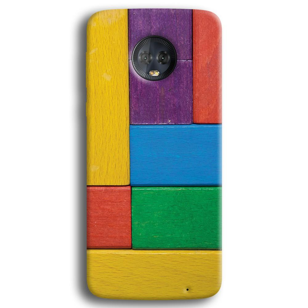 Color Block Moto G6 Plus Case