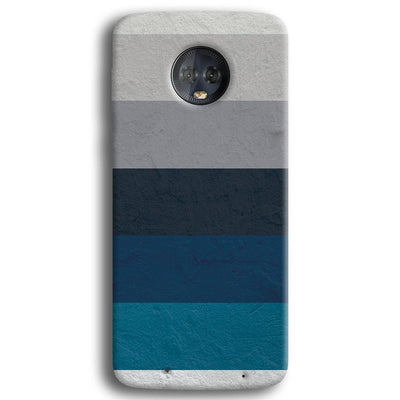 Greece Hues Moto G6 Plus Case