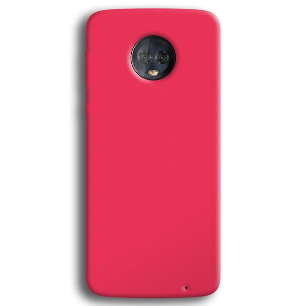 Light Pink Moto G6 Plus Case