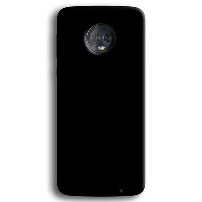 Black Moto G6 Plus Case